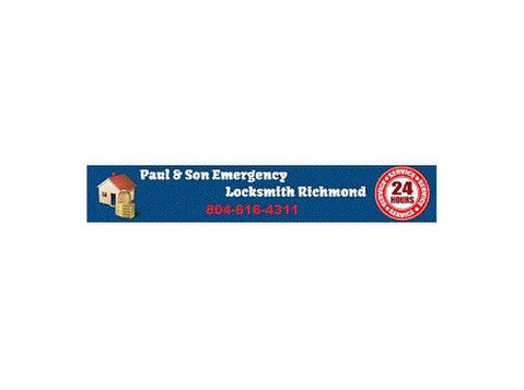 paul & Son-locksmith Emergency Richmond, Va - Security services