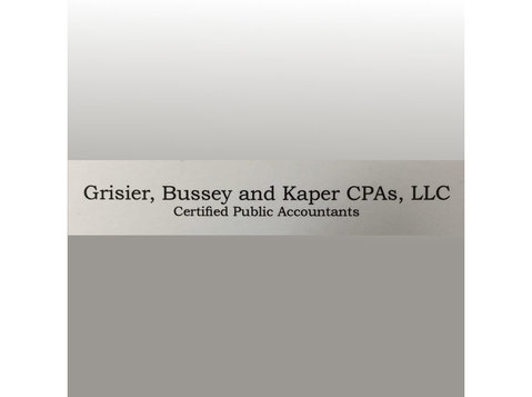 Grisier, Bussey and Kaper Cpas, Llc - Tax advisors