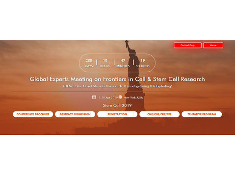 Stem Cell Conferences 2019 Usa - Conference & Event Organisers