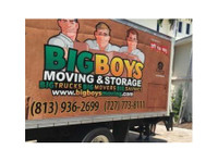 Big Boys Moving & Storage of Tampa Bay (2) - Removals & Transport