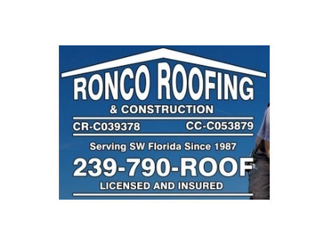 Fort Myers Roofing Company – Ronco Roofing - Roofers & Roofing Contractors
