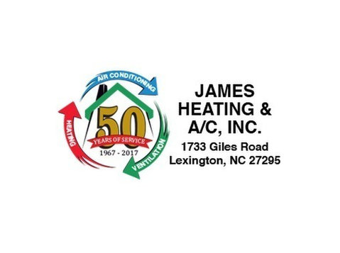 James Heating & A/C, Inc - Plumbers & Heating