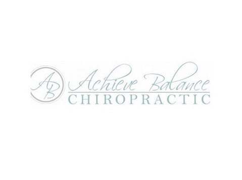 Achieve Balance Chiropractic - Alternative Healthcare