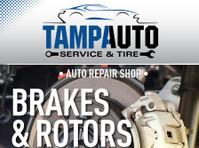 Tampa Auto Service & Tire (3) - Car Repairs & Motor Service