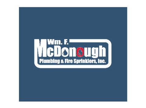Wm F Mcdonough Plumbing & Fire Sprinklers - Plumbers & Heating