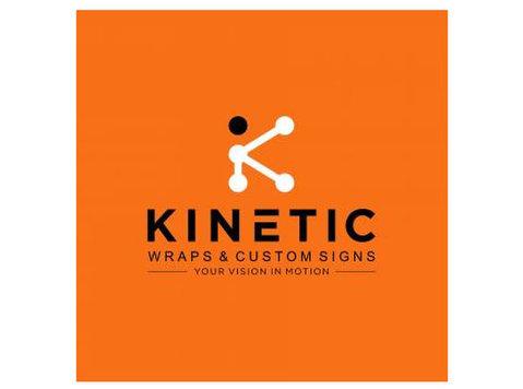 Kinetic Wraps and Custom Signs - Печатни услуги