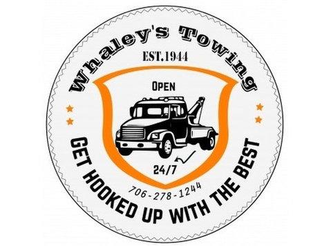 Whaley's Towing - Reparação de carros & serviços de automóvel