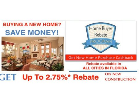 Sunshine New Home Rebates Florida - Estate Agents