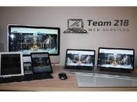 Team 218 Web Services (2) - Marketing & PR