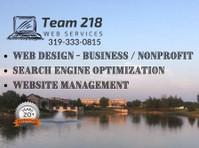 Team 218 Web Services (3) - Marketing & PR