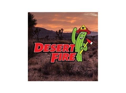 Desert Fire - Property inspection
