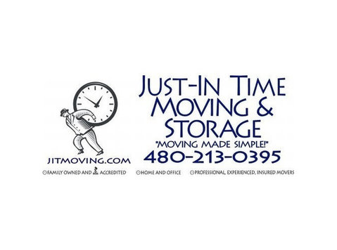 Just-In Time Moving & Storage - Storage
