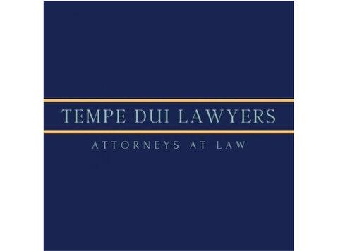 Tempe DUI Lawyer - Avvocati e studi legali