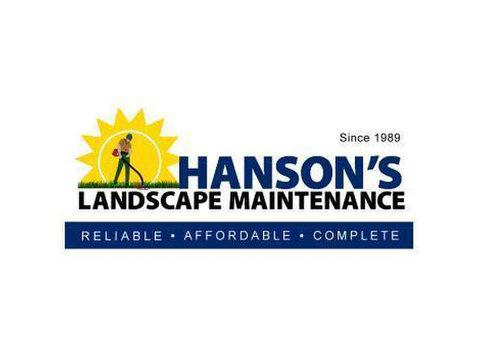 Hanson's Landscape Maintenance - Gardeners & Landscaping
