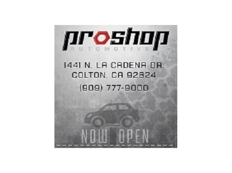 Proshop Automotive - Car Repairs & Motor Service