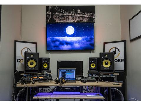 Conqer Music Studio - TV, Radio & Print Media