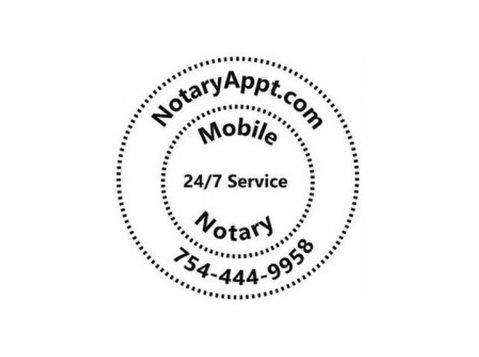Mobile Notary 24/7 - NotaryAppt.com - Notaries