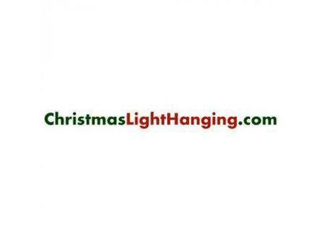 Christmas Light Hanging - Shopping