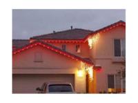 Christmas Light Hanging (3) - Shopping
