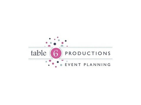 Table 6 Productions - Conference & Event Organisers