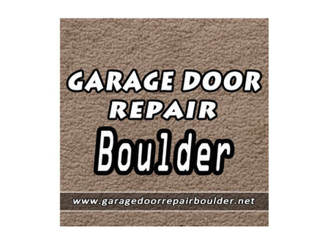 Garage Door Repair Boulder - Construction Services