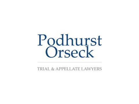 Podhurst Orseck, P.A. - Právní služby pro obchod