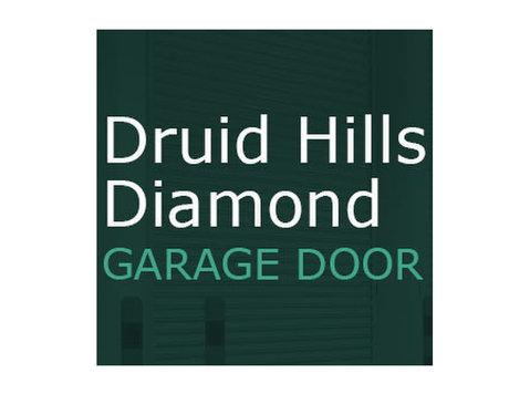 Druid Hills Diamond Garage Door - Windows, Doors & Conservatories