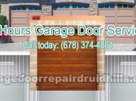Druid Hills Diamond Garage Door (2) - Windows, Doors & Conservatories