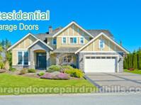 Druid Hills Diamond Garage Door (4) - Windows, Doors & Conservatories