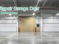 Druid Hills Diamond Garage Door (5) - Windows, Doors & Conservatories