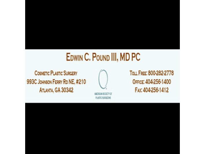 Edwin C Pound III - Cosmetic surgery