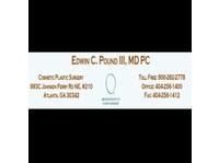 Edwin C Pound III - Cosmetische chirurgie