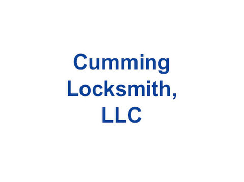 cumming locksmith, llc - Security services