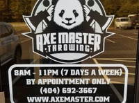 Axe Master Throwing (3) - Games & Sports