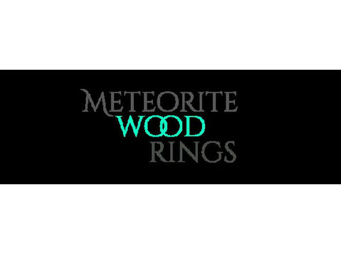 Meteorite Wood Rings - Jewellery