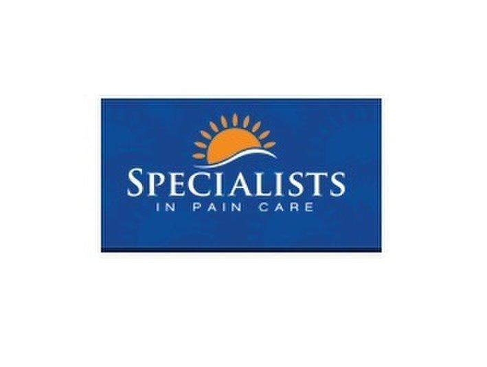 Specialists in Pain Care - Doctors