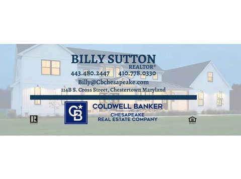 Billy Sutton, Realtor at Coldwell Banker Chesapeake - Estate Agents