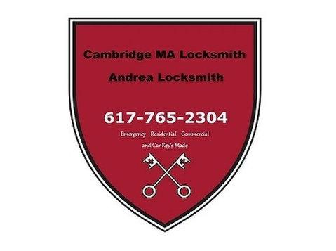 Cambridge MA Locksmith - Andrea Locksmith - Security services