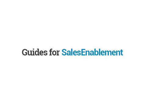 Guides for Sales Enablement - Marketing & PR