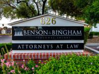 Benson & Bingham Accident Injury Lawyers, Llc (3) - Commercial Lawyers