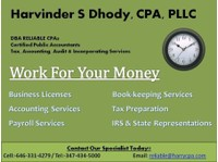 Harvinder S Dhody, CPA, PLLC (1) - Personal Accountants