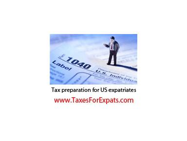 Taxes for Expats - Tax advisors
