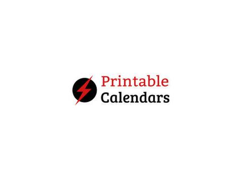 Printable Calendar 2021 - Print Services