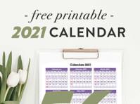 Printable Calendar 2021 (2) - Print Services