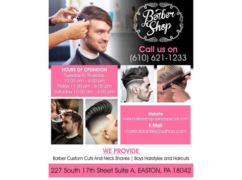 Hair cuts in Easton | Barber Shop - Hairdressers