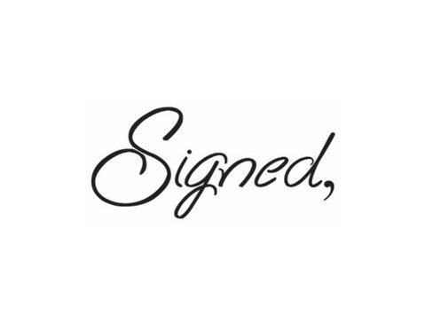 Signed Cards - Маркетинг и Връзки с обществеността