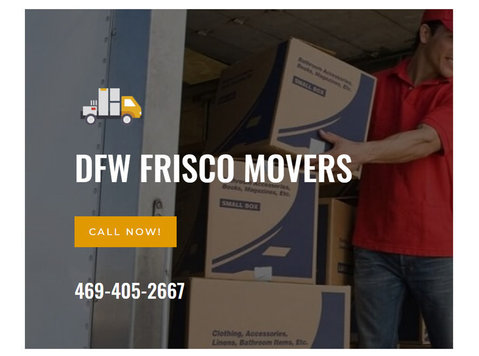 Dfw Frisco Movers - Removals & Transport