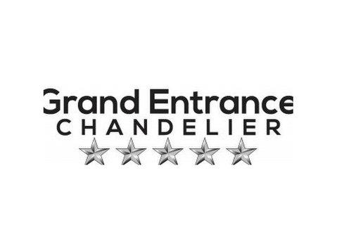 Grand Entrance Chandelier - Painters & Decorators