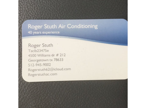 Roger Stuth Air Conditioning and Heater Repair - Plumbers & Heating