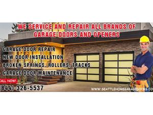 Seattle Home Garage Doors - Hogar & Jardinería